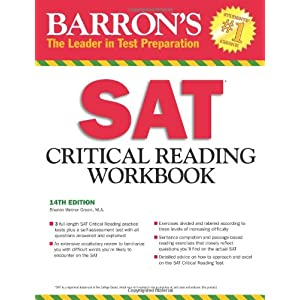 SAT Critical Reading Workbook (Critical Reading Workbook for the Sat)