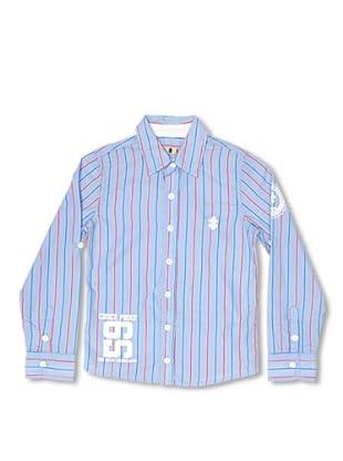 CKS Kids BOYS Camisa Collier (Azul)
