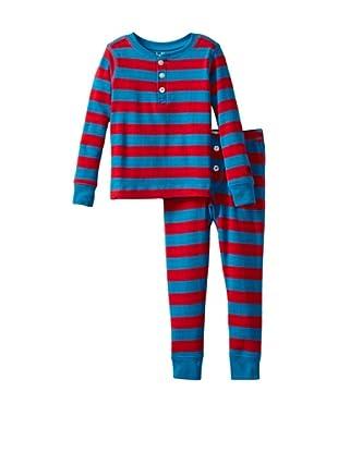 Hatley  Pijama Lebedos (Rojo / Azul)