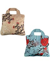 Envirosax Wanderlust Grocery Bag, Set of 2