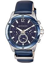 Giordano Analog Blue Dial Men's Watch - 1731-01