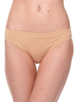 Cotonella Pack de 2 Braguitas Microfibra (bronce nude)