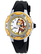 Disney Kids 50917-F-1 Toy Story 3 Slinky Dog Yellow Spectrum Watch With Black Rubber Band