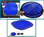 FloMaster-Car Mesh Type UV Protection Sun Shades(Set of 2), blue
