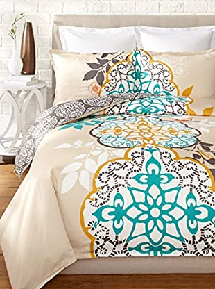 Blissliving Home Shangri-La Reversible Duvet Set