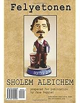 Felyetonen Feuilleton Af Yidish