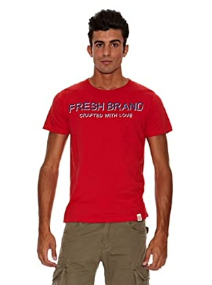 The Fresh Brand Camiseta (Rojo)