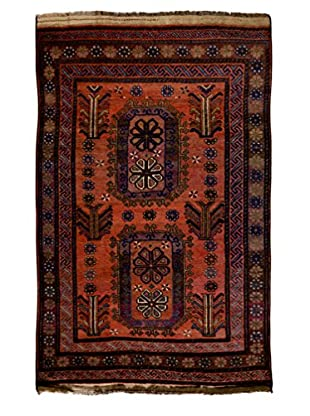 Darya Rugs One-of-a-Kind Tribal Rug, Red, 5' 2