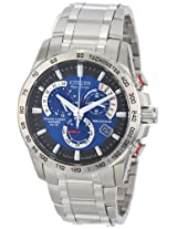"""Citizen Men's AT4000-53L """"Amazon Exclusive"""" Eco-Drive Stainless Steel Watch with Triple-Link Bracelet"""