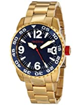 red line Men's RL-60020 Ignition Gold-Tone Stainless Steel Watch