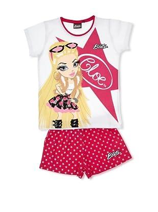 Licencias Pijama Bratz (Blanco / Rosa)