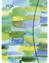 Watercolors 2016 - Large Magneto Diary - Maria Carluccio Illustrations - 16 x 22cm