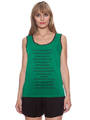 Santa Bárbara Camiseta Frases (Verde)
