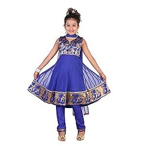 Snail Blue Salwar Kameez