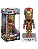 Iron Man ~6.5 Bobble Head Figure: 'Iron Man 3' Wacky Wobbler Series