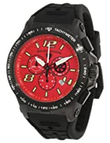 Swiss Legend Men's 10040-BB-05 Sprint Racer Chronograph Red Dial Watch