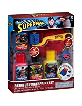 Superman Bathtub Fingerpaint Set, 7 pc