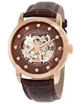 Stuhrling Original Analog Brown Dial Men's Watch - 107D.3345K59