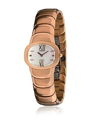 SEIKO Reloj con movimiento cuarzo japonés Woman 70117 15 mm