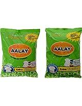 Aalay Detergent Washing Powder- 6 KG (Pack of 2)