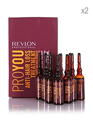 Revlon Set 2 Pro You Tratamientos Anti Caída 12 amp x 6 ml