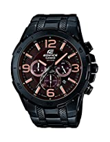 Casio Edifice Stopwatch Chronograph Brown Dial Men's Watch - EFR-538BK-5AVUDF (EX181)