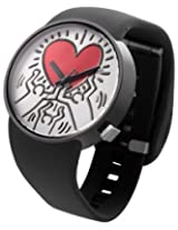 Odm Odm Keith Haring X Collection Watch Heart Logo Black Dd134-11 - Dd134-11