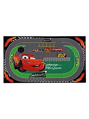 ABC Alfombra Cars Racing Rug (Verde/Rojo)
