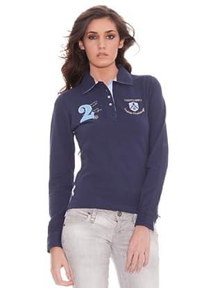 Valecuatro Polo Parche (Azul Marino)