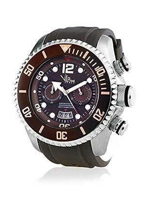 Vip Time Italy Uhr mit Japanischem Quarzuhrwerk VP5036BR_BR braun 50.00  mm