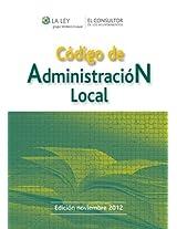 Código de Administración Local (Códigos El Consultor)