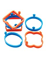 6pc Silicone Egg Rings