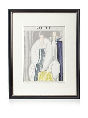 Original Vogue Cover from 1921 by Eduardo Benito