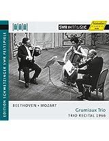Beethoven/Mozart:Grumiaux  [Arthur Grumiaux; Georges Janzer; Eva Czako] [HANSSLER CLASSIC: 93.727]