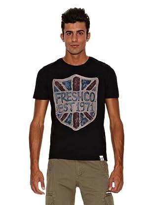 The Fresh Brand Camiseta Langley (Negro)