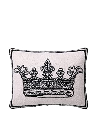 Peking Handicraft King Crown Hook Pillow