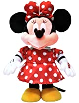 Disney Dancing Minnie with Dancing Module and 3 Melodies, Multi Color (12-inch)
