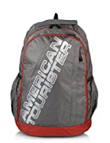 Mebelkart American Tourister Grey & Red R51068003 Backpack