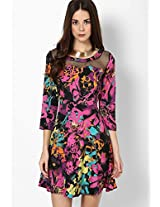 # Save-The-Flowers Fit & Flare Dress