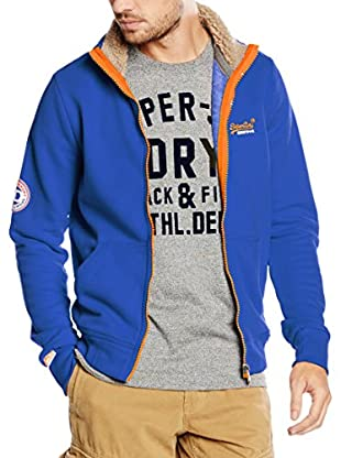 Superdry Giacca Felpa Orange Label Track