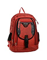 Next Age Nylon School Backpack (Red)