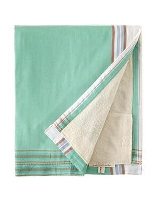 Nomadic Thread Society Surf Sarong Towel (Aqua/Green/White)