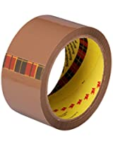 Scotch Tan Packaging Tape, 2 inches x 50 m - Pack of 6