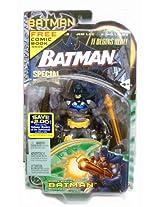 "2003 Snare Strike Batman 6"" Mattel Action Figure W Free Special Edition Comic Book"