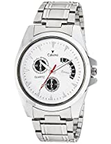 Calvino Analog White Men's Watch- CGAC-142011White