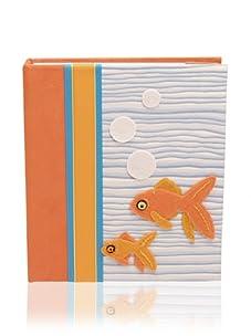 Molly West Fishy- Photo Album, Orange