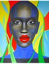 Afrowoman Poster by Vika Gankina