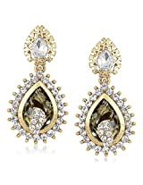 Meenaz Traditional Earrings Fancy Party Wear Kundan Moti Pearl Daimond Earrings For Women - TR144