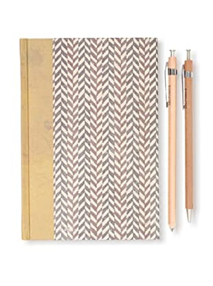Sweet Bella Classic Agenda and Wood Pen and Pencil Set