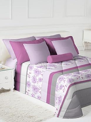 Fundeco by Antilo Colcha Conforter Diana (Malva / Gris)